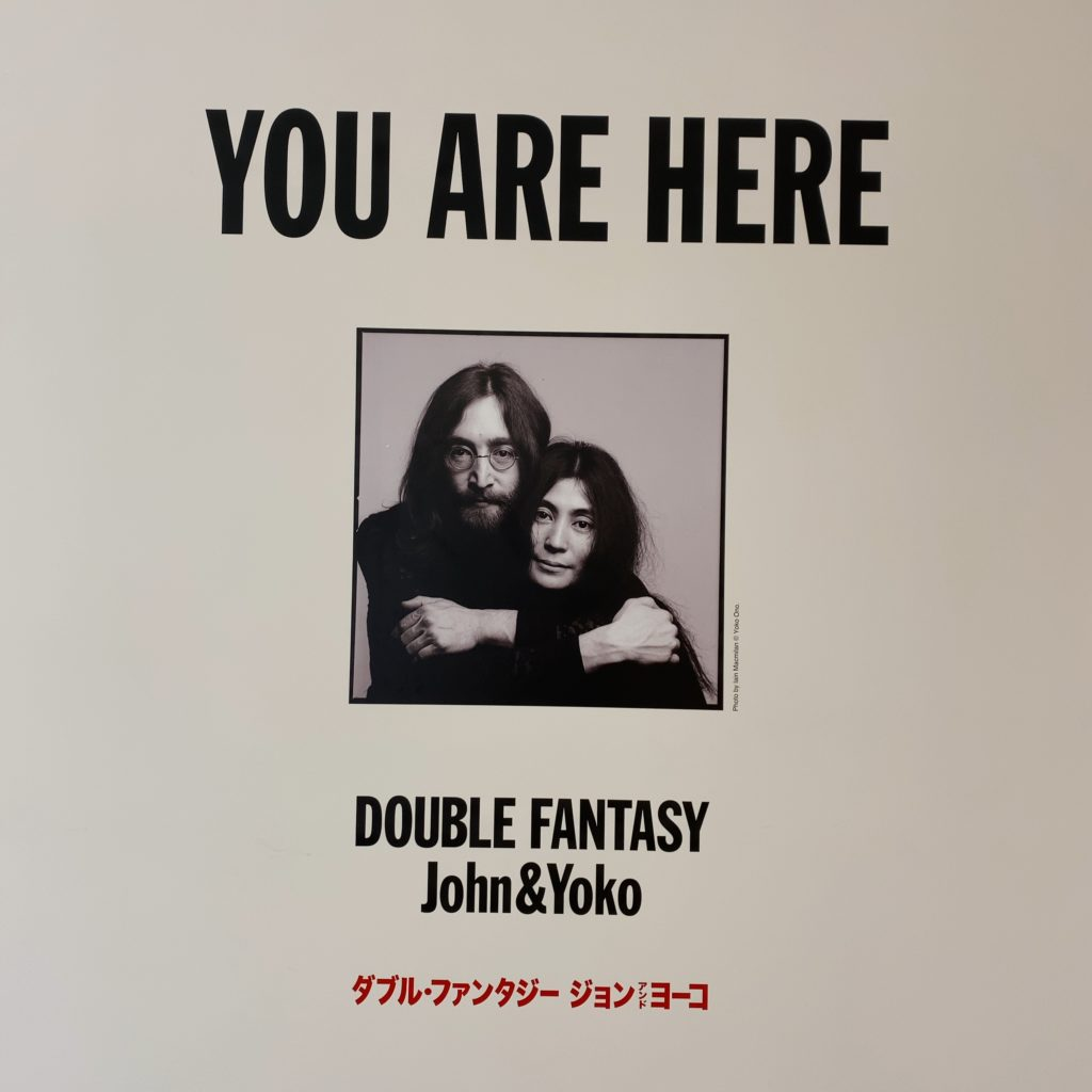 DOUBLE FANTASY-John&Yokoキービジュアル