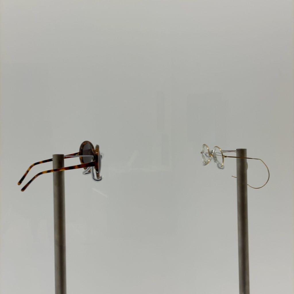 DOUBLE FANTASY John&Yoko 2人のサングラス