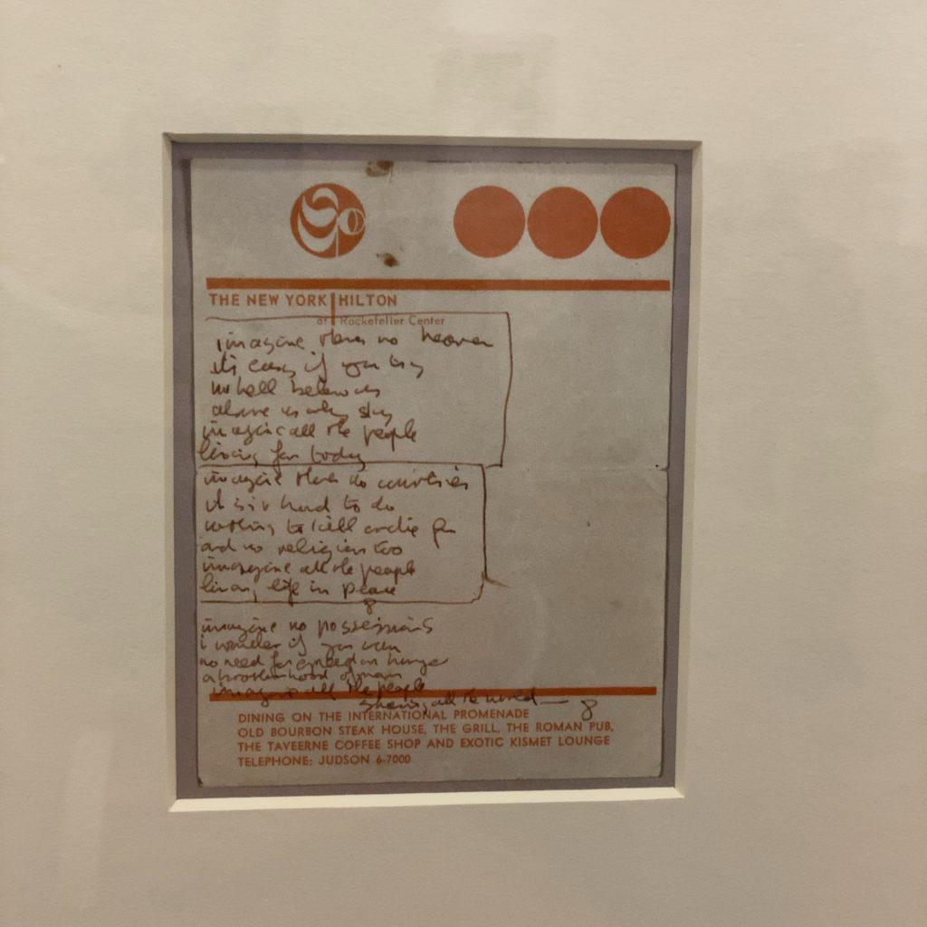 DOUBLE FANTASY John&Yoko 1971