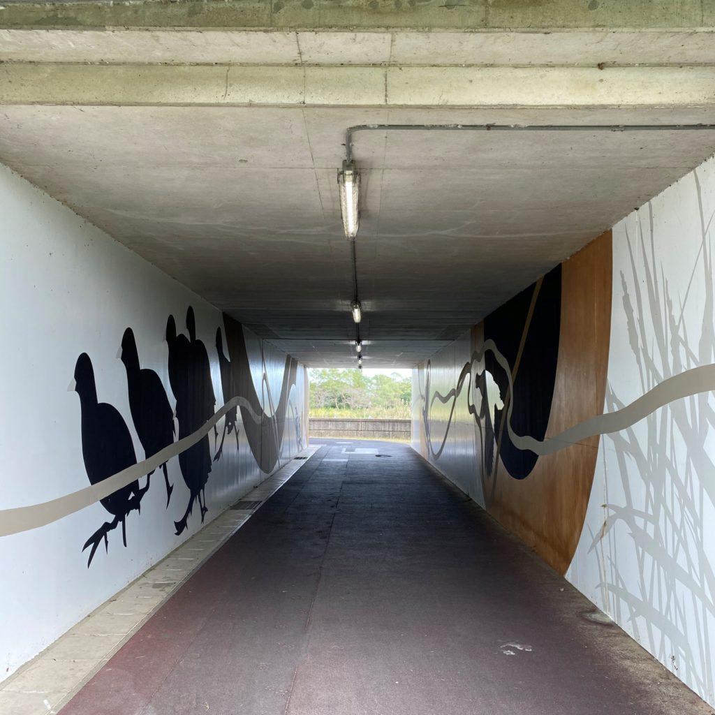 手賀大橋アンダーパス壁画