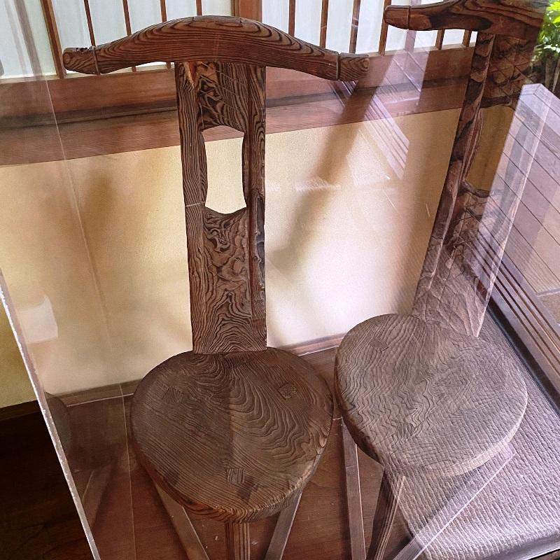 旧村川別荘新館-バーナード・リーチの椅子