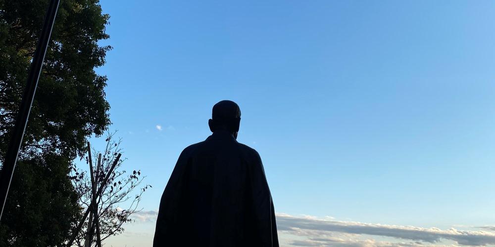 嘉納治五郎銅像