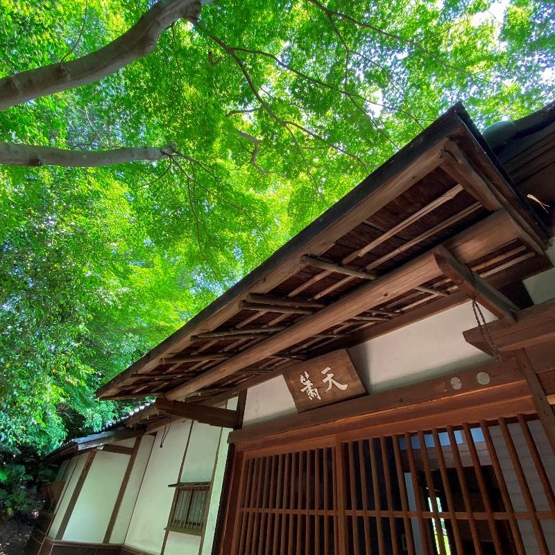 旧村川別荘母屋の玄関