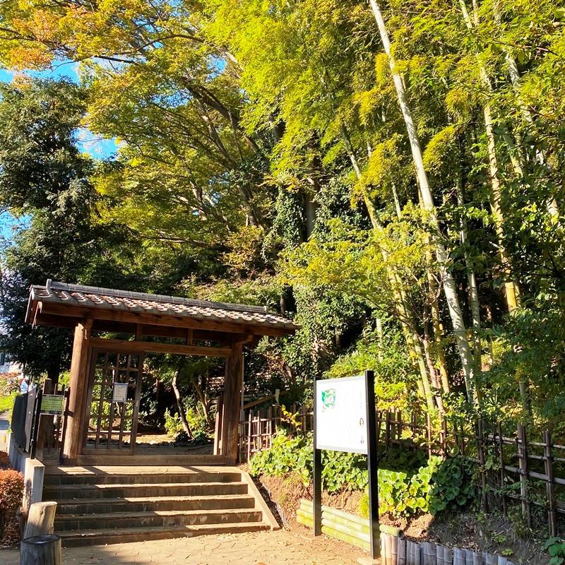 旧村川別荘の南門