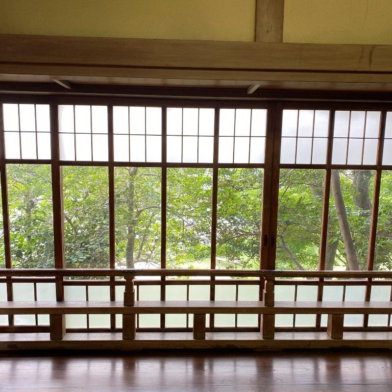 旧村川別荘新館出窓