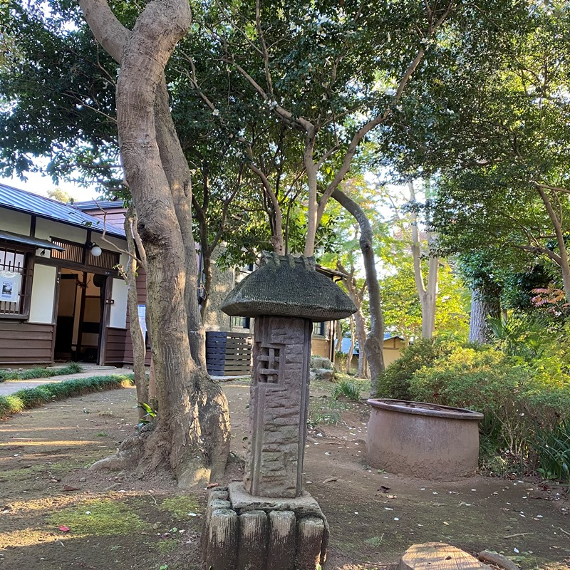 杉村楚人冠記念館母屋玄関