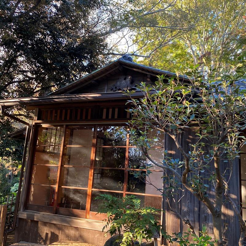 杉村楚人冠記念館茶室