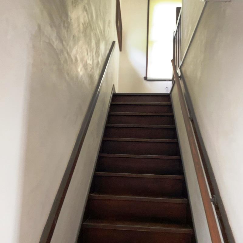 杉村楚人冠記念館階段