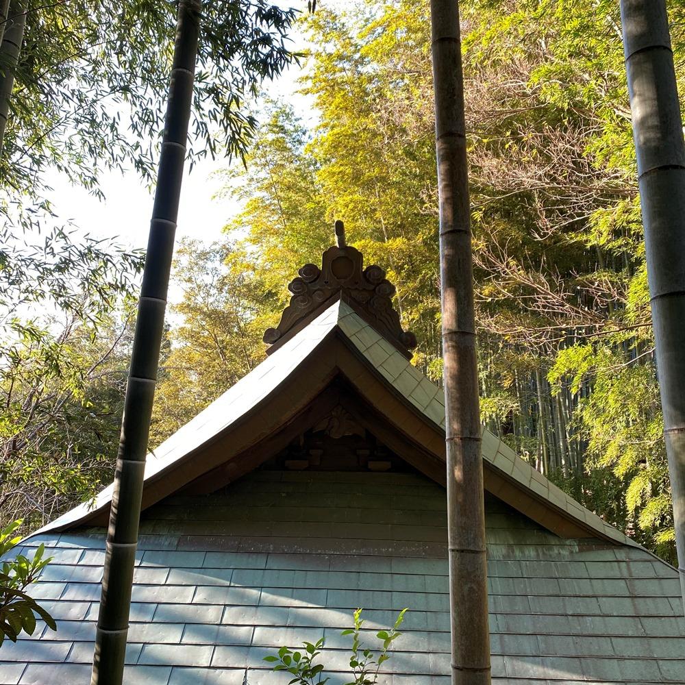 銅板葺の屋根