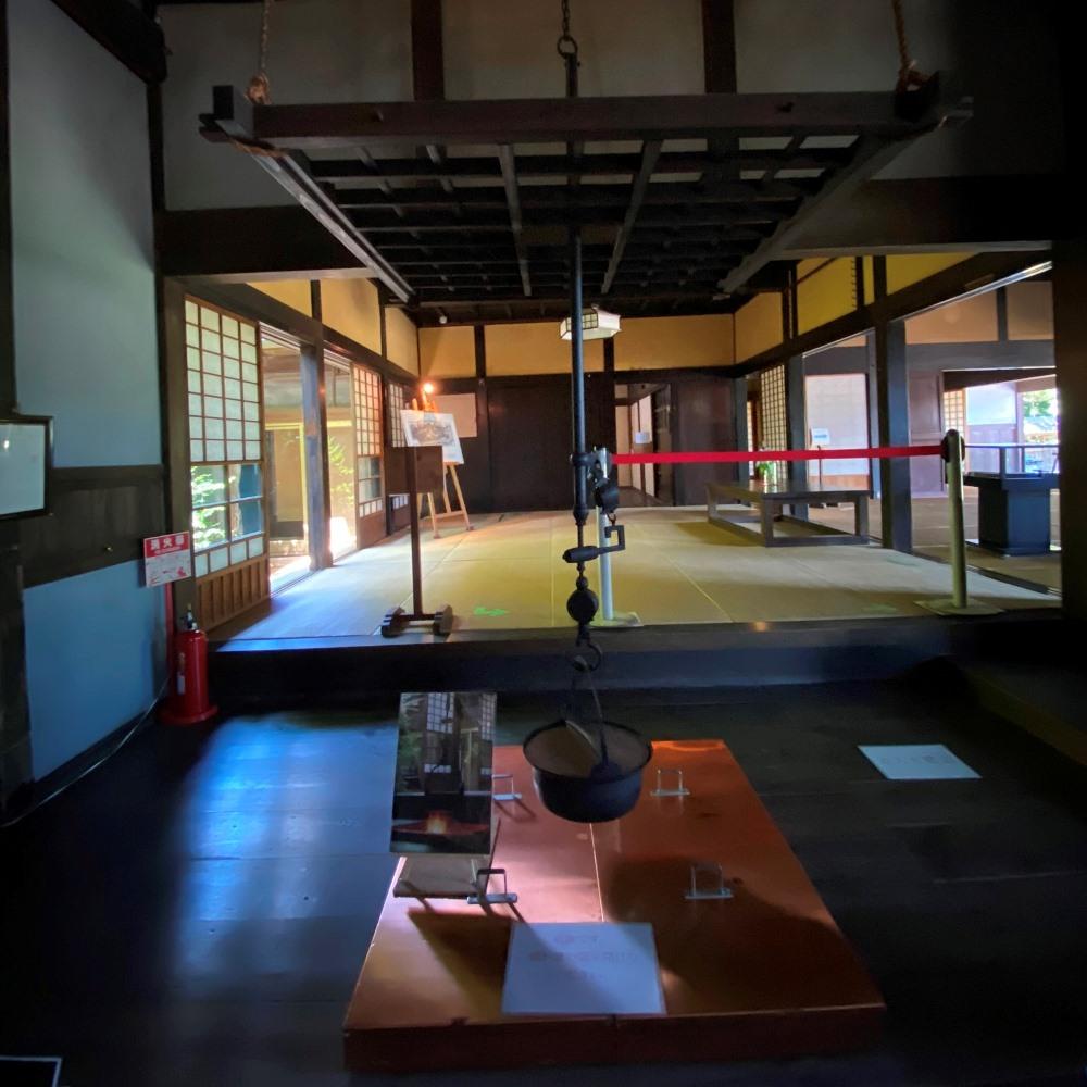 旧吉田家住宅歴史公園囲炉裏
