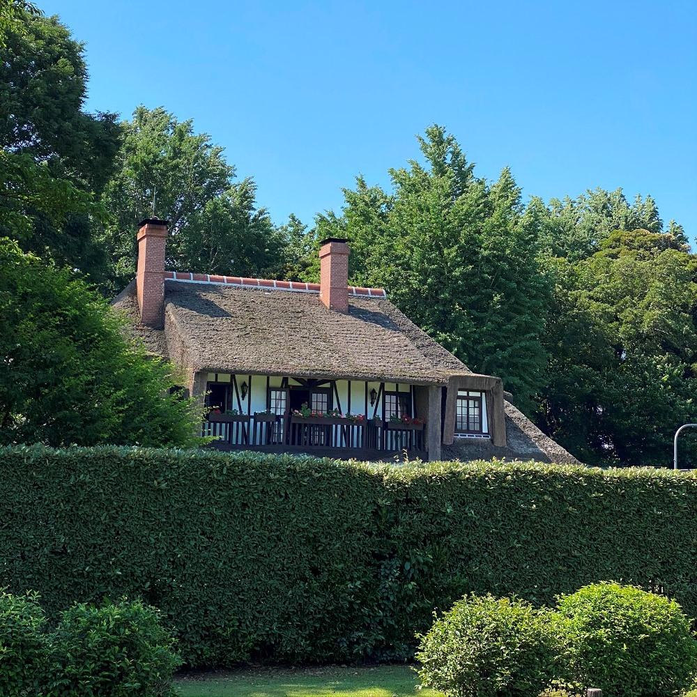 旧吉田家住宅歴史公園現在の豪邸