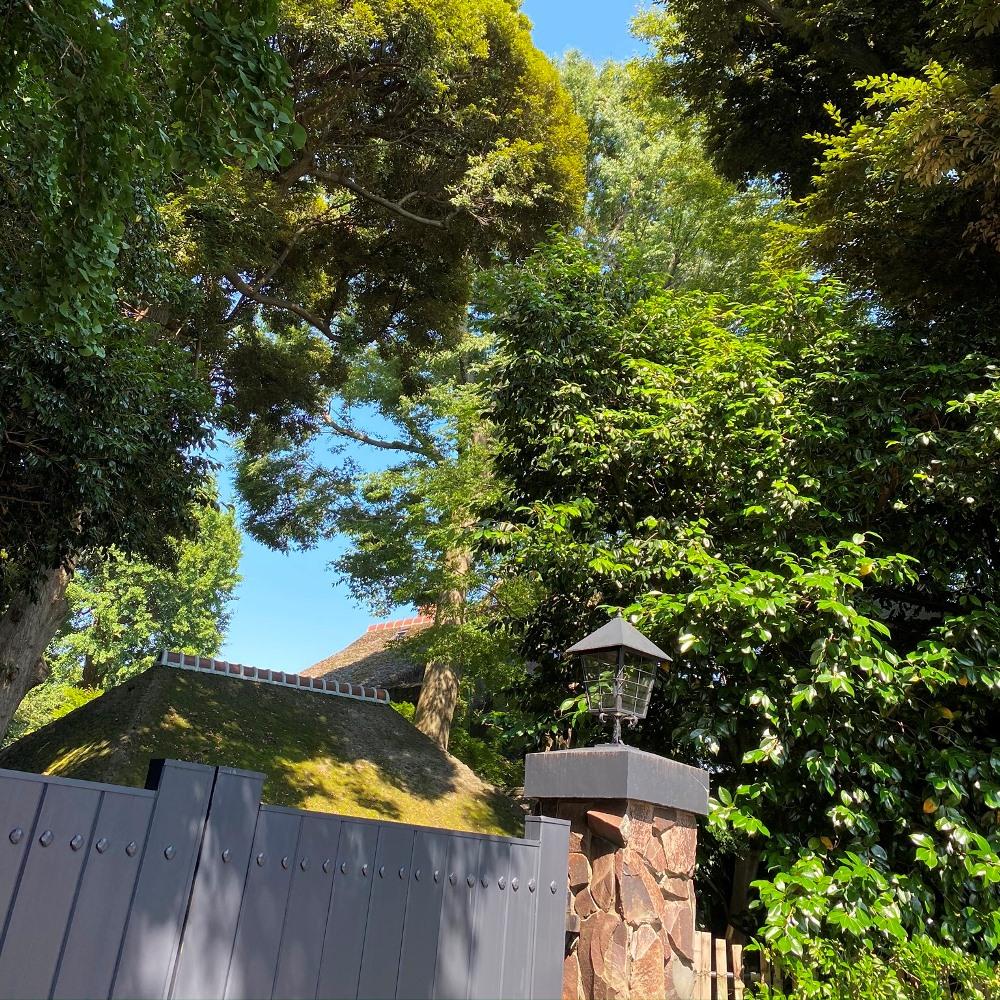 旧吉田家住宅歴史公園現在の豪邸の門