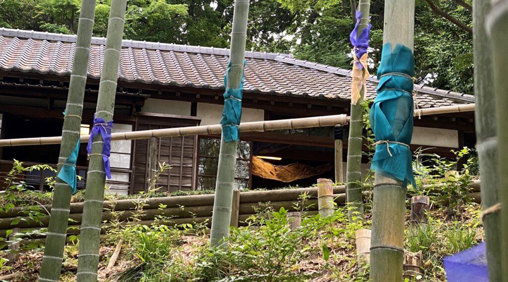 我孫子アートな散歩市-N-石川美穂子-竹衣