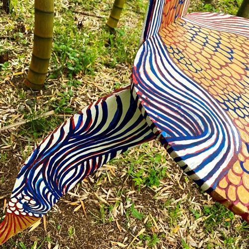 我孫子アートな散歩市 - J2 - マエノ マサキ - リーチ先生のアマビエ椅子