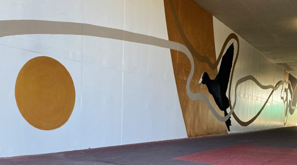 手賀大橋アンダーパスの壁画